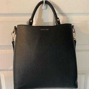 Love & lore black purse